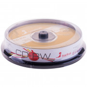 Диск CD-RW 700Mb Smart Track 4-12x Cake Box (10шт)