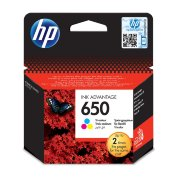 Картридж струйный HP 650 CZ102AE цв . для DJ Ink Advantage 2515/3515