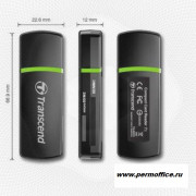 Картридер Transcend Compact Card Reader TS-RDP5K Black