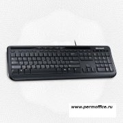 Клавиатура Microsoft Wired Keyboard 600 USB (ANB-00018) черн